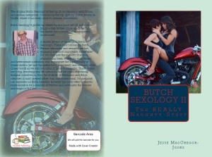 The brand new cover design for Butch Sexology 2.