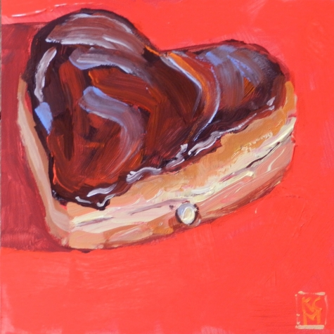 Take a bite of my heart tonight....photo courtesy of dailypainters.com