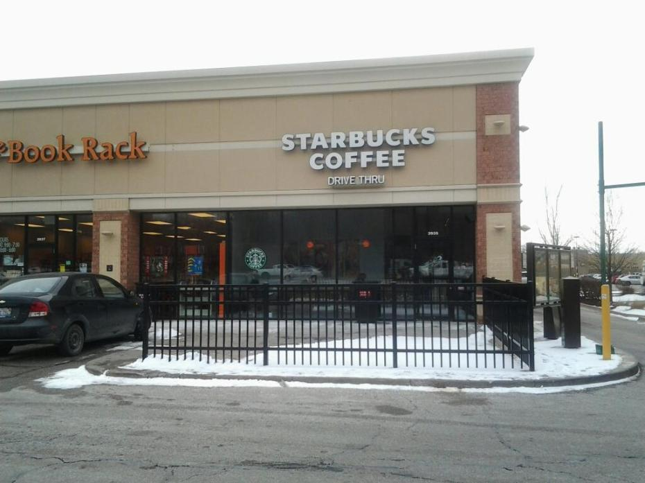 The Starbucks where I kissed the love of my life for the first time...in Moline, Illinois