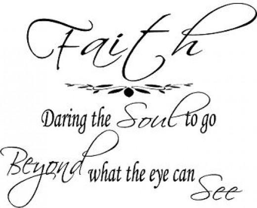 Faith meme